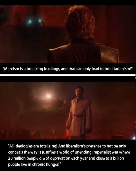 star wars all ideologies are totalizing